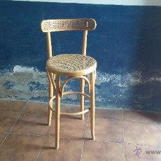 Antigüedades: ANTIGUA SILLA TABURETE DE MADERA MUY BIEN CONSERVADA. Lote 53535628
