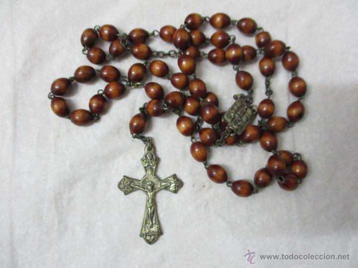 BONITO ROSARIO (Antigüedades - Religiosas - Rosarios Antiguos)