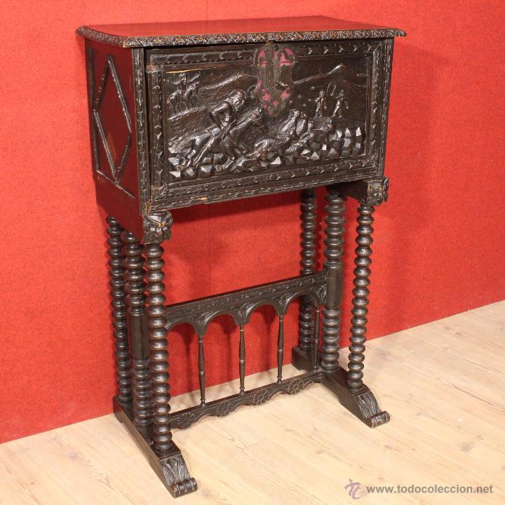 Muebles tallados en madera francs provincial sala de for Muebles tallados en madera