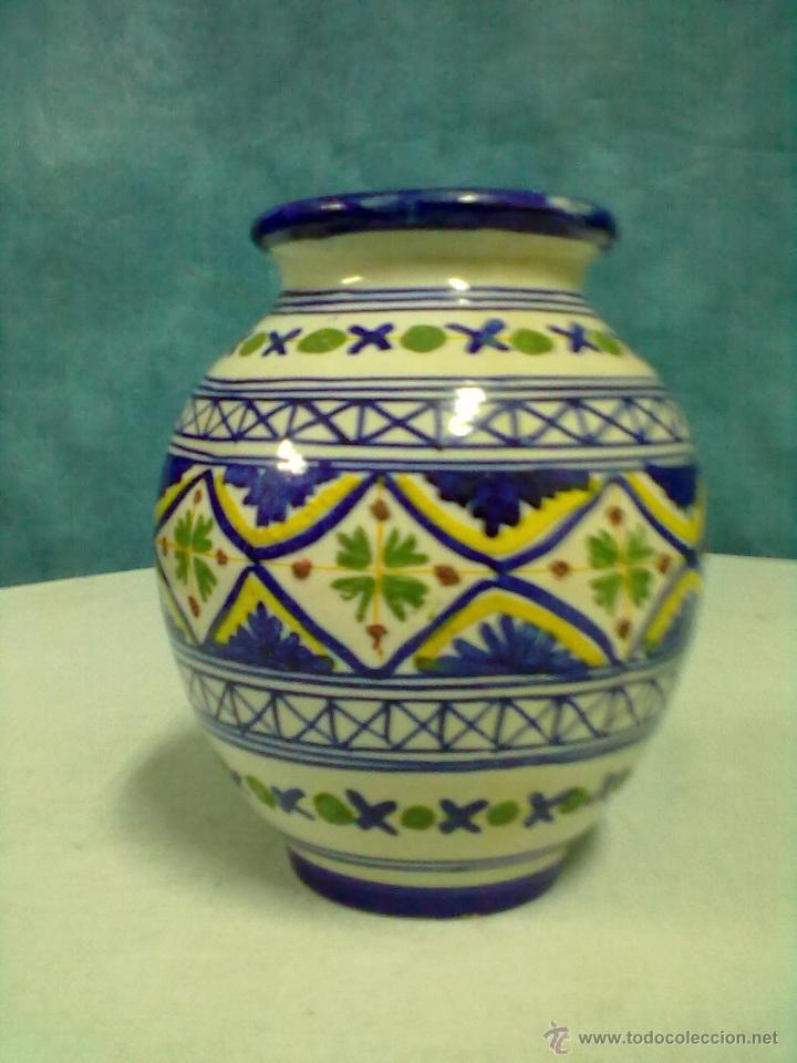 JARRON CERAMICA TALAVERA (Antigüedades - Porcelanas y Cerámicas - Talavera)