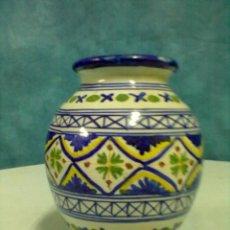 Antigüedades: JARRON CERAMICA TALAVERA. Lote 53551193