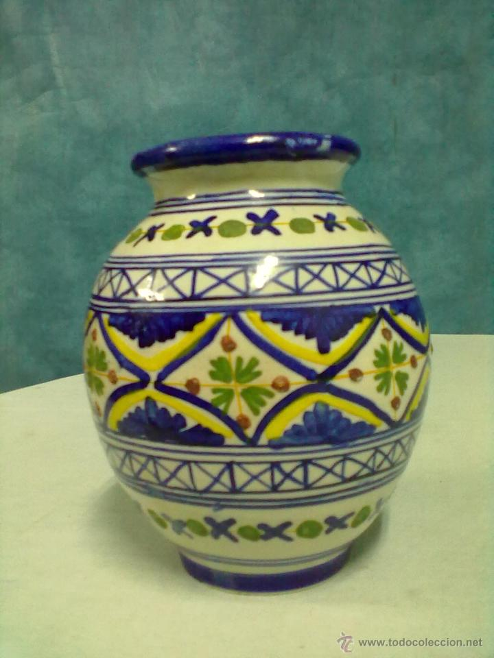 Antigüedades: JARRON CERAMICA TALAVERA - Foto 3 - 53551193
