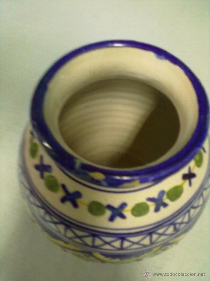 Antigüedades: JARRON CERAMICA TALAVERA - Foto 4 - 53551193