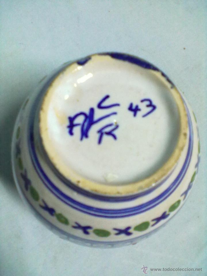 Antigüedades: JARRON CERAMICA TALAVERA - Foto 5 - 53551193