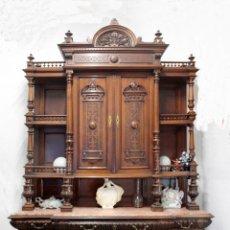 Antigüedades: GRAN APARADOR ALFONSINO CON CORNISA. Lote 44278418