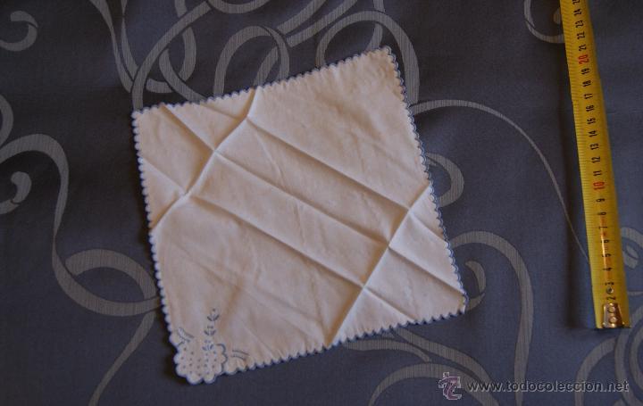 Antigüedades: Antiguo Pañuelo hecho a mano - Foto 2 - 53573485