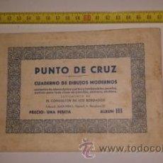 Antigüedades: PUNTO DE CRUZ. Lote 53576478