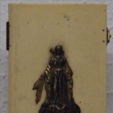 Antigüedades: ANTIGUAS TAPAS PROTECTORAS DE MISAL EN CELULOIDE.. Lote 53578951