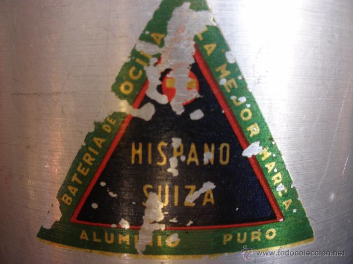 Antigüedades: Antigua lechera domestica en aluminio Hispano Suiza - Foto 3 - 53581613