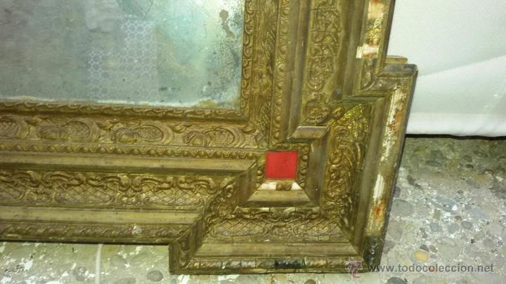 Antigüedades: espejo antiguo ver - Foto 2 - 53583482