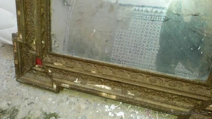 Antigüedades: espejo antiguo ver - Foto 3 - 53583482