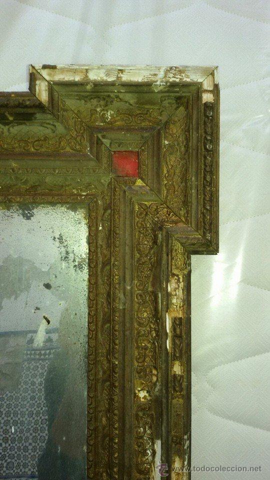 Antigüedades: espejo antiguo ver - Foto 4 - 53583482
