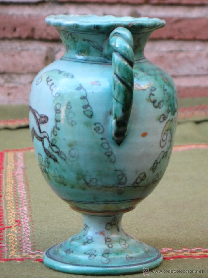 Antigüedades: JARRITA ANTIGUA DE EL PUENTE DEL ARZOBISPO (TOLEDO ) PPOS. SIGLO XX.FIRMADA. - Foto 5 - 53592559