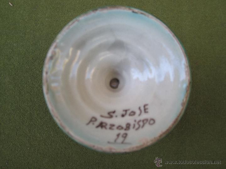 Antigüedades: JARRITA ANTIGUA DE EL PUENTE DEL ARZOBISPO (TOLEDO ) PPOS. SIGLO XX.FIRMADA. - Foto 7 - 53592559