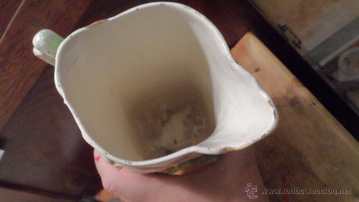 Antigüedades: bonito picher antiguo ceramica valencia manises - Foto 2 - 53624189