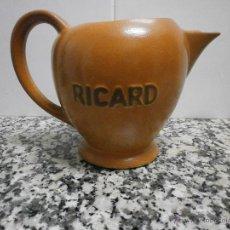 Antigüedades: JARRA RICARD DE POCELANA EN LA BASE SELLO Y NUMERADA. Lote 53633761