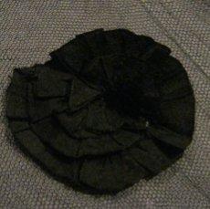 Antigüedades: ANTIGUA PIEZA DE TUL CON FLORES DE SEDA S.XIX. Lote 53636431
