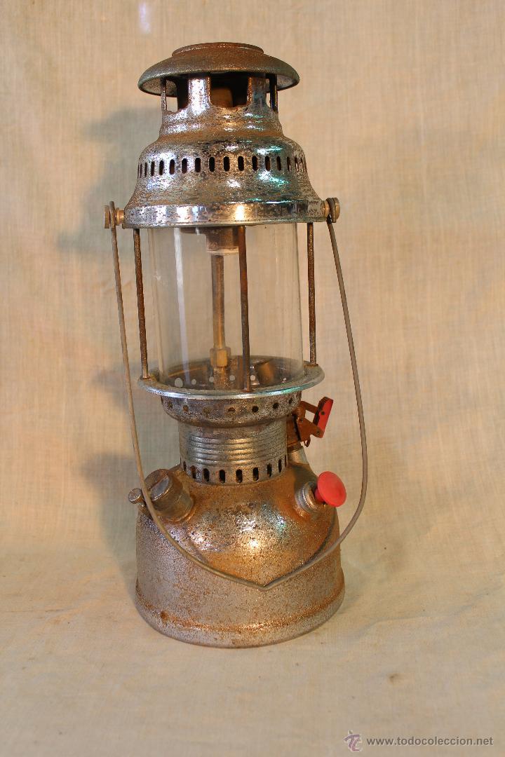Antigüedades: LAMPARA DE PETROLEO BRUDER MANNESMANN WERKZEUGE - Foto 4 - 53641582