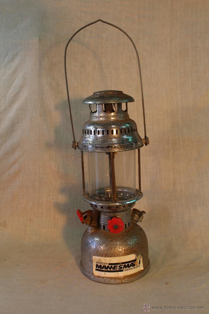 Antigüedades: LAMPARA DE PETROLEO BRUDER MANNESMANN WERKZEUGE - Foto 5 - 53641582