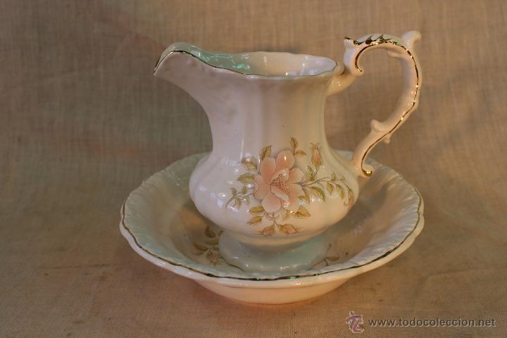 AGUAMANIL EN PORCELANA (Antigüedades - Porcelanas y Cerámicas - Otras)