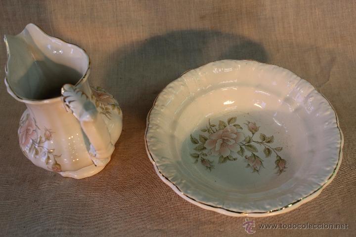 Antigüedades: AGUAMANIL EN PORCELANA - Foto 8 - 53641705