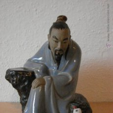 Antigüedades: FIGURA CHINA DE WAN JIANG. AÑOS 50. Lote 53649854
