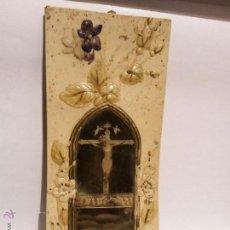 Antigüedades: SANTO CRISTO DE BALAGUER. RECUERDO. 19 X 8 CM.. Lote 53666433