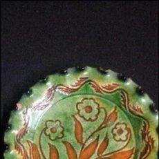Antigüedades: MAGNIFICO PLATO REALIZADO A MANO TITO UBEDA CERAMICA VIDRIADA . Lote 53668917