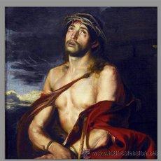 Antigüedades: AZULEJO 20X20 DE JESÚS ECCE HOMO. Lote 53672201