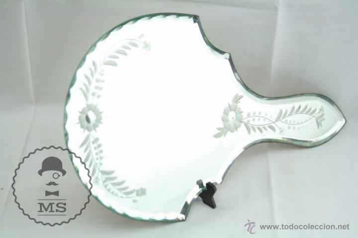 espejo de tocador de cristal tallado - decoraci - Comprar Espejos ...