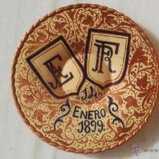 Antigüedades: PLATO DE REFLEJOS AÑO 1899.. Lote 53693324