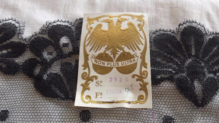 Antigüedades: antigua mantilla española , a estrenar. - Foto 4 - 53699840