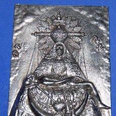 Antigüedades: VIRGEN DE LAS ANGUSTIAS PLACA / APLIQUE VIRGEN DE LAS ANGUSTIAS-04. Lote 53700597