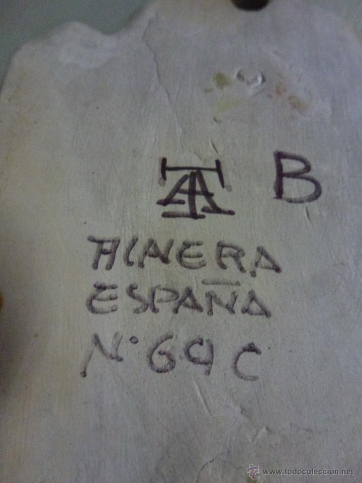 Antigüedades: Piqueta, benditera, ceramica de Talavera. - Foto 2 - 53709011