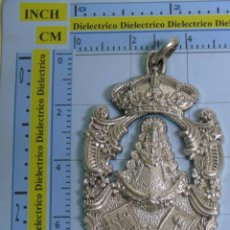 Antigüedades: MEDALLA MEDALLÓN RELIGIOSO. HERMANDAD DEL ROCIO DE CHUCENA. HUELVA. Lote 53717060
