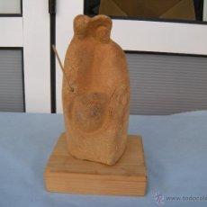 Antigüedades: ESCULTURA NACIMIENTO EN BARRO GRES.. Lote 53717215
