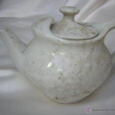 Antigüedades: BONITA TETERA PARA DOS. Lote 53727583