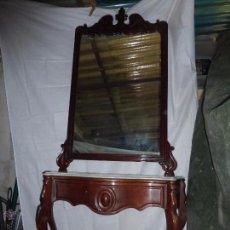 Antigüedades: CONSOLA ISABELINA DE LA DITADA. Lote 53750325
