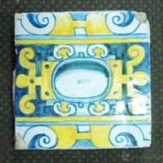 Antigüedades: ANTIGUO AZULEJO S XVII- XVIII . Lote 53751124