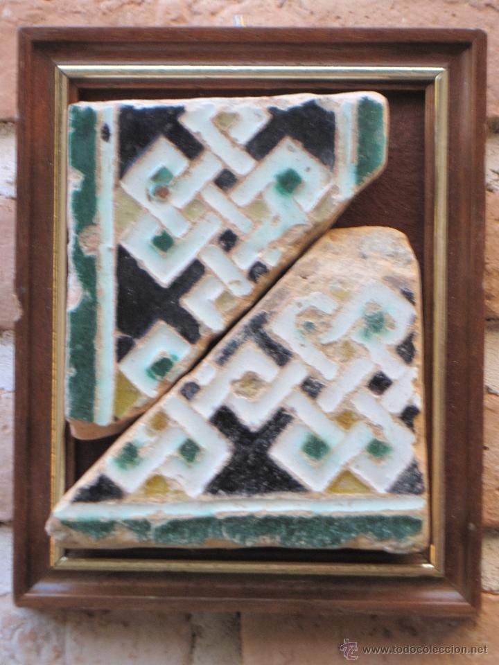 Lote 2 azulejos antiguos toledo sevilla ari vendido - Azulejos clasicos ...