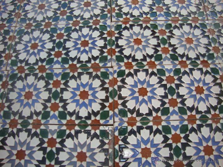 Antigüedades: Lote azulejos Ramos Rejano (Triana) - Foto 2 - 53755182