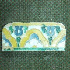 Antigüedades: ANTIGUO AZULEJO DE CENEFA S XVI-XVII. Lote 53759663