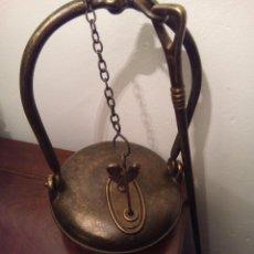 Antigüedades: LAMPARA O CANDIL DE SAPO/ MINA. Lote 53761203