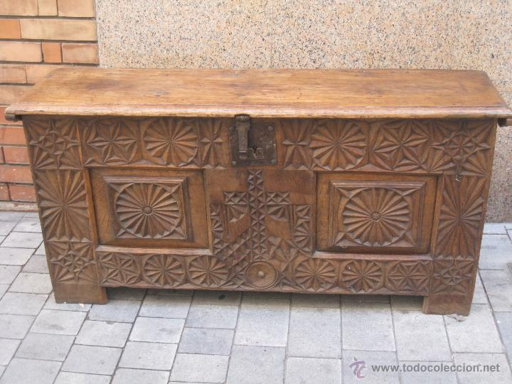 Arcon vasco s xviii comprar ba les antiguos en for Muebles vascos