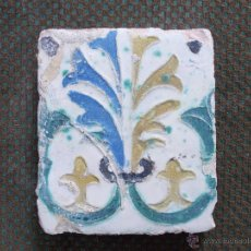 Antigüedades: ANTIGUO AZULEJO S XVI-XVII . Lote 53766378