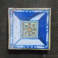 Antigüedades: ANTIGUO AZULEJO S XVII. Lote 53766487