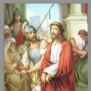 Antigüedades: PRECIOSO CONJUNTO DE 15 AZULEJOS 20X30 DE LAS ESTACIONES DEL VIA CRUCIS.. Lote 82325995
