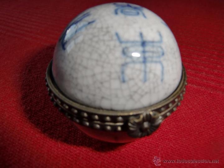 CAJITA O PASTILLERO ANTIGUO (Antigüedades - Hogar y Decoración - Otros)