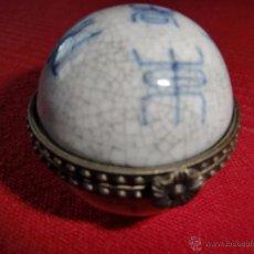 Antigüedades: CAJITA O PASTILLERO ANTIGUO. Lote 53784313