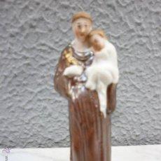 Antigüedades: PRECIOSO SAN ANTONIO ANTIGUO - PORCELANA BISCUIT - FINALES SIGLO XIX. Lote 53784396